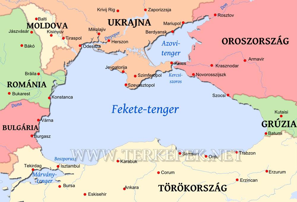 földközi tenger térkép Fekete tenger térképe földközi tenger térkép